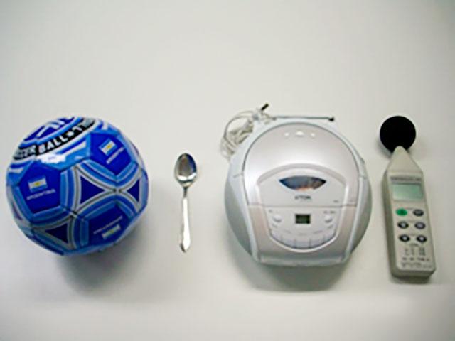 検証に使用した道具
